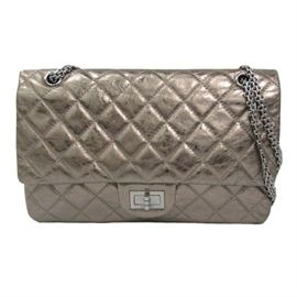 Chanel Quilted Reissue Double Flap Bag