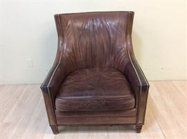 Charter Furniture Co. Leather Chair