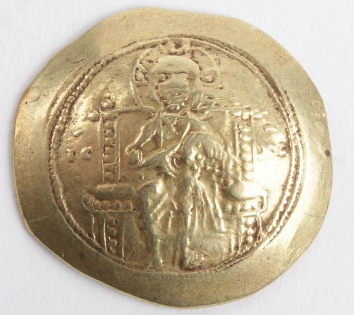 Lot 72 - Coin Ancient Gold Coin Constantine X Doukas