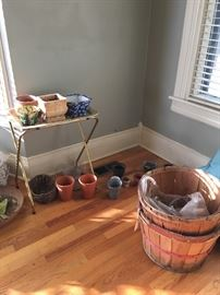 Bushel baskets and planters