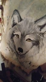 Hand painted fur!