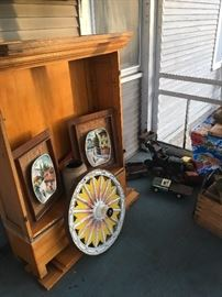 pine cupboard- back porch