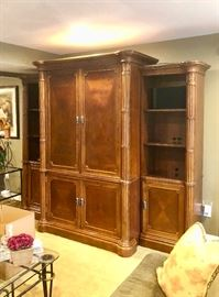 Four piece Broyhill wall unit