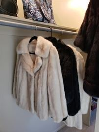 Ladies Mink and Beaver Jackets