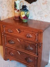 Gorgeous Carved Wood Chest