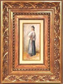 PierreAuguste Renoir JEUNE PAYSANNE