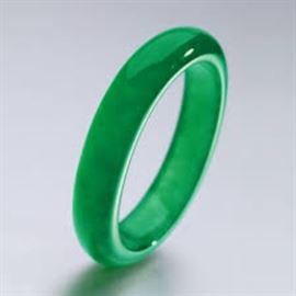 Imperial Green Jadeite Bangle