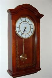 Bulova wall clock with Westminster chimes
