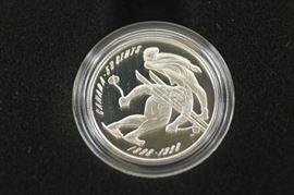 Sterling silver Canadian collector 50 cent piece coin