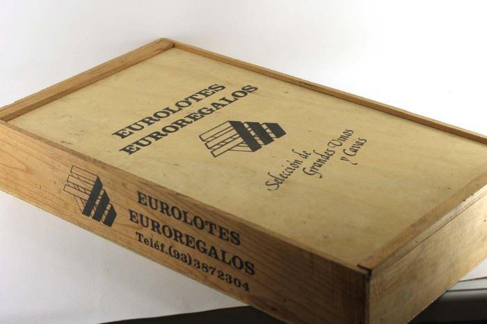 Eurolotes Euroregalos wooden box