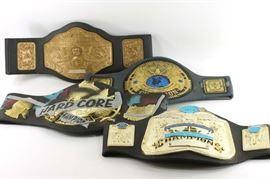 Toy wrestling belts