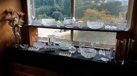 Nice Crystal & Glass.