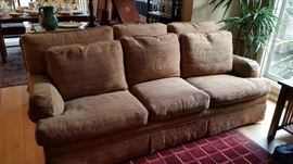 2 very nice down filled sofa's.