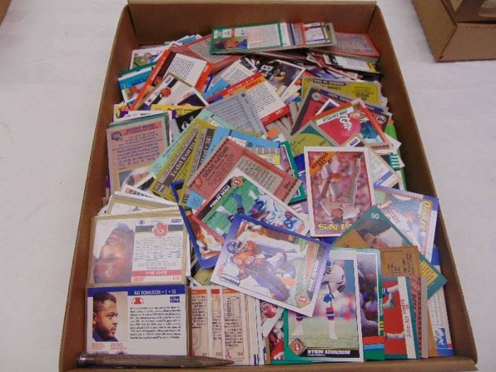 Assorted Sports Trading Cards
