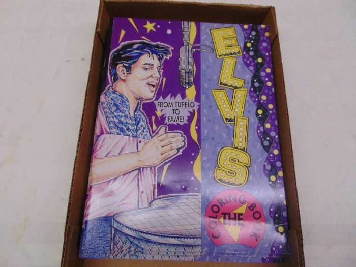 Elvis Coloring Books