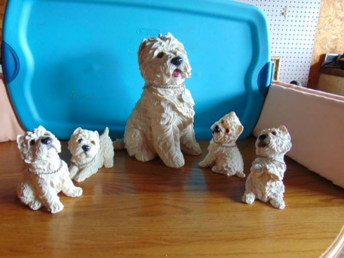 The Gift Collection Dog Family