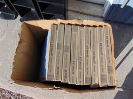 Box of air filters