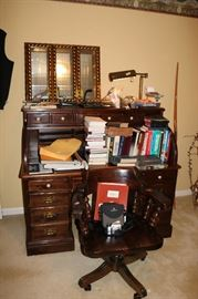 Ethan Allen desk and chair. Sold separately. Solid wood