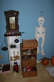 Old clock in parts