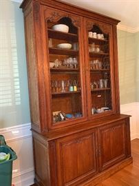 One of a kind 17th Century Bibliotheque hutch