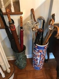 Chinese Umbrella Stand, Canes