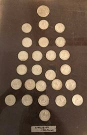 Silver Coin Tree