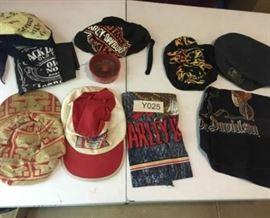 Bandanas and Biker Hats