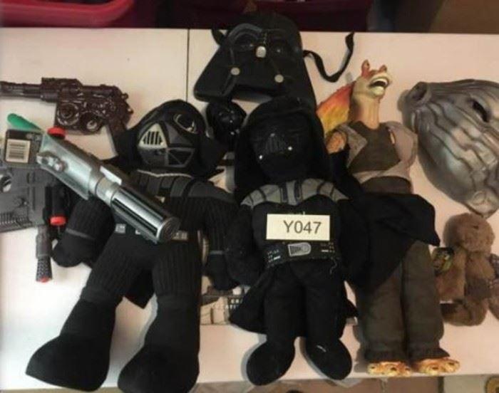 Star Wars Plush Toys and Guns