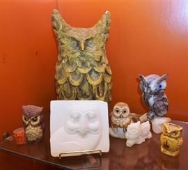 Owl collectibles