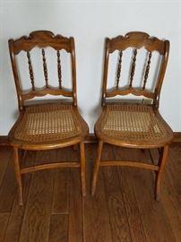 Cane Seat Chairs  https://ctbids.com/#!/description/share/86701
