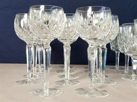 36 Waterford Crystal Glasses https://ctbids.com/#!/description/share/88885
