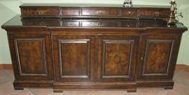 Burled Sideboard Cabinet