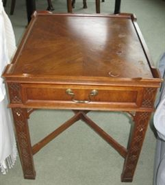 Chippendale Lamp Table