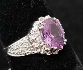1 3/5ct Alexandrite Ring