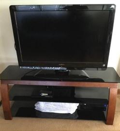 Insignia 42 TV with Sony DVD