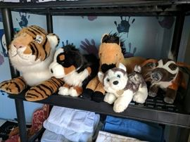Clean, excellent stuffed animals.