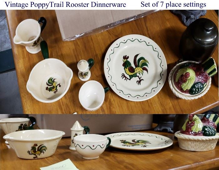 Vintage Poppy Trail Dishware