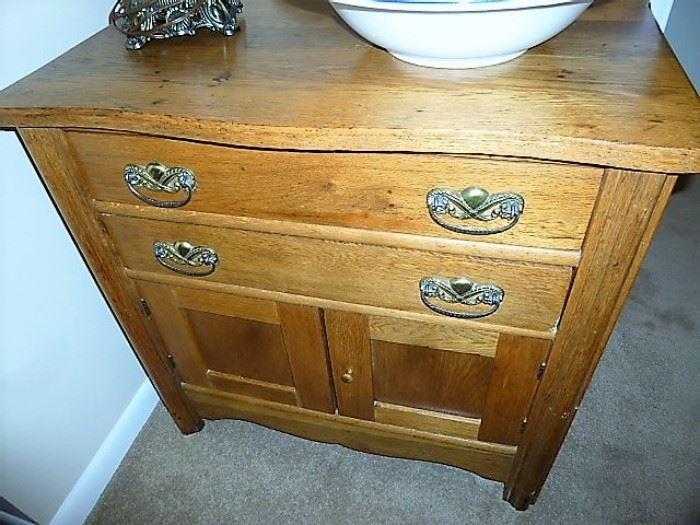 Antique Oak Dry Sink - $100!