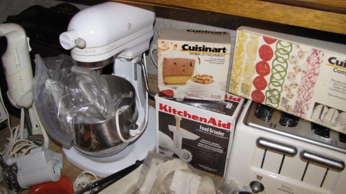 HD Kitchen aid mixer & more gadgets.