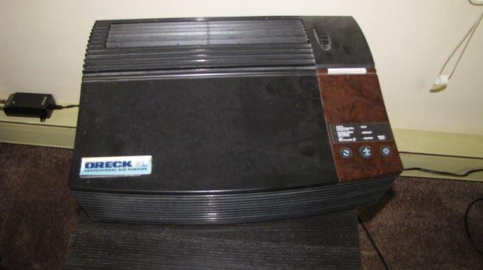 Oreck air purifier.