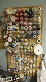 Wall of thread
