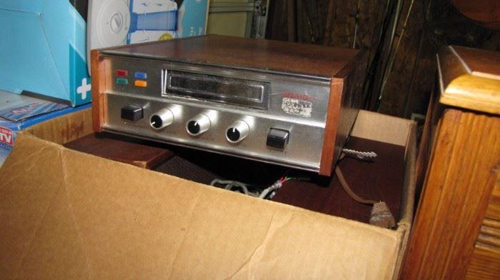 Pioneer / Craig 8 track player & speaker set.