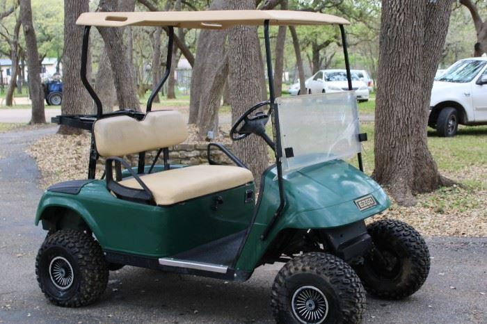 2. EZGO Electric Golf Cart