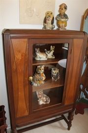 furniture antique small hutch