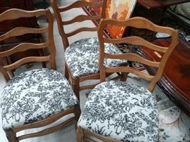 French Provencial Chairs