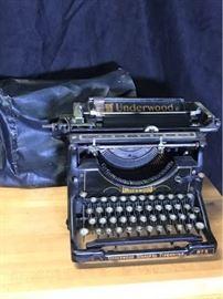 Underwood typewriter No 5