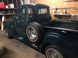 53 Chevrolet, completely restored
