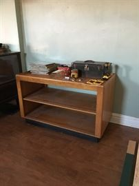 Solid Oak Double Sided Display *tools NFS*