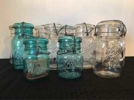 Vintage Ball Mason Jars https://ctbids.com/#!/description/share/88864