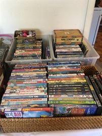 Nice collection of kids movies - dvds